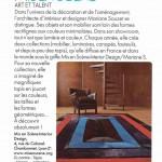 Article sur MS Architecture Interieur Magazine Elle Déco d'Avril 2012