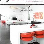 Article sur MS Architecture Interieur Magazine My Chic Residence de Janvier 2012
