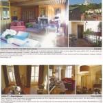 Article sur MS Architecture Interieur Magazine My Chic Residence d'Octobre 2011