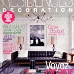 Article sur MS Architecture Interieur Magazine Résidences Décoration d'Octobre 2010