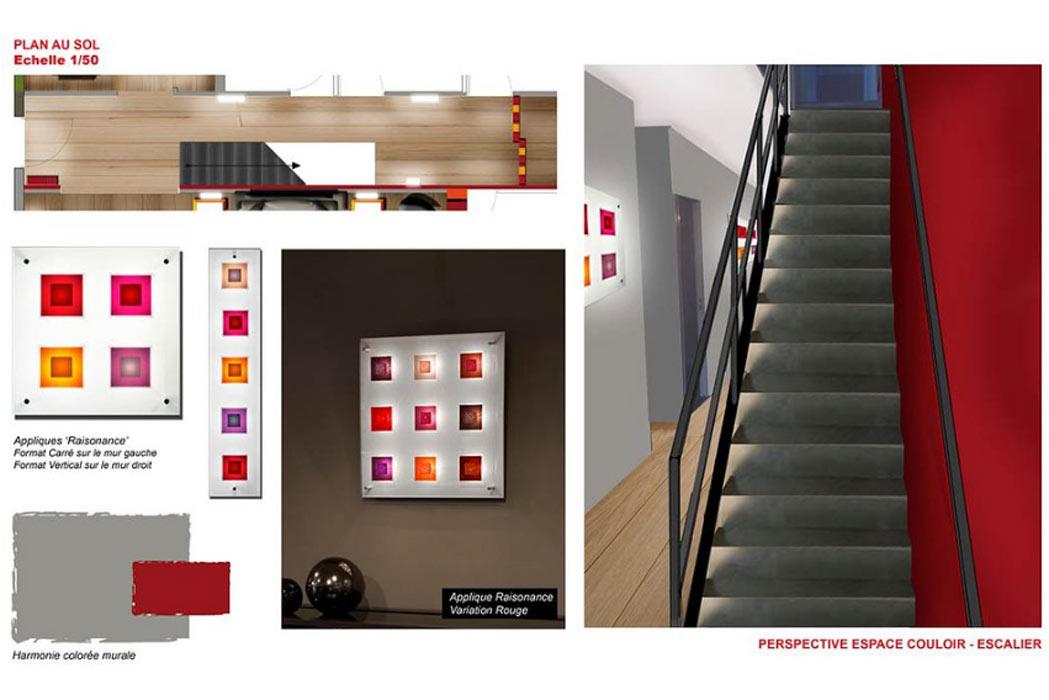 MS Architecture interieur Lyon - Plan Aménagement interieur pour particuliers