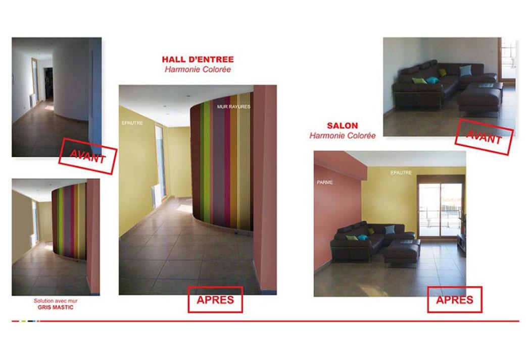 MS Architecture interieur Lyon - Aménagement interieur pour particuliers - Avant/Après