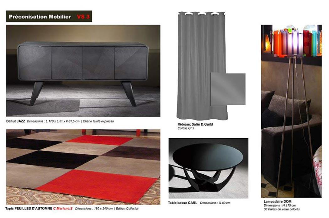 MS Architecture interieur Lyon - Aménagement interieur pour particuliers - Préconisations mobiliers