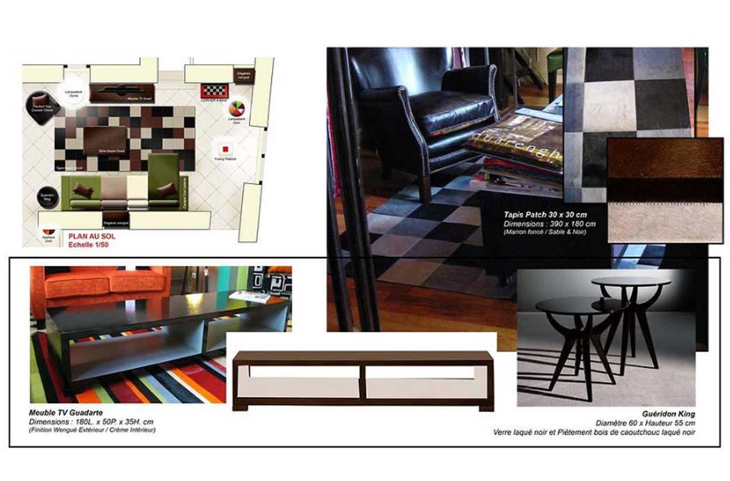 MS Architecture interieur Lyon - Plan et preconisation mobilier Aménagement interieur pour particuliers