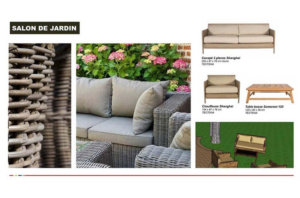 MS Architecture interieur Lyon - Aménagement exterieur pour particuliers - Préconisations mobiliers de jardin