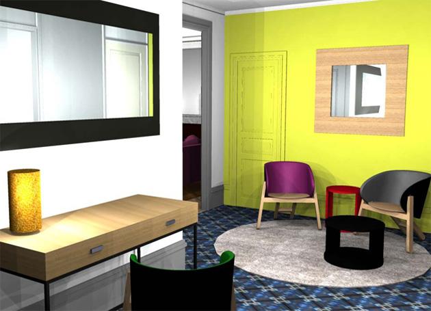 Ms Architecture interieur - Vue 3D aménagement et decoration interieur maison, appartement, villa