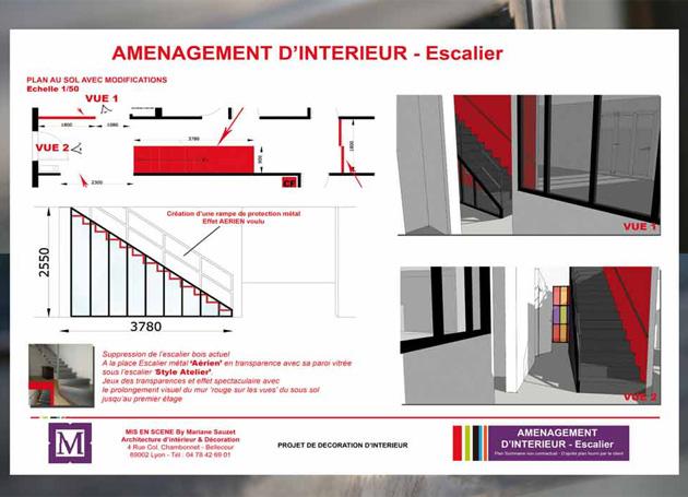 MS Architecture interieur - Plan au sol pour aménagement interieur maison, villa, appartement