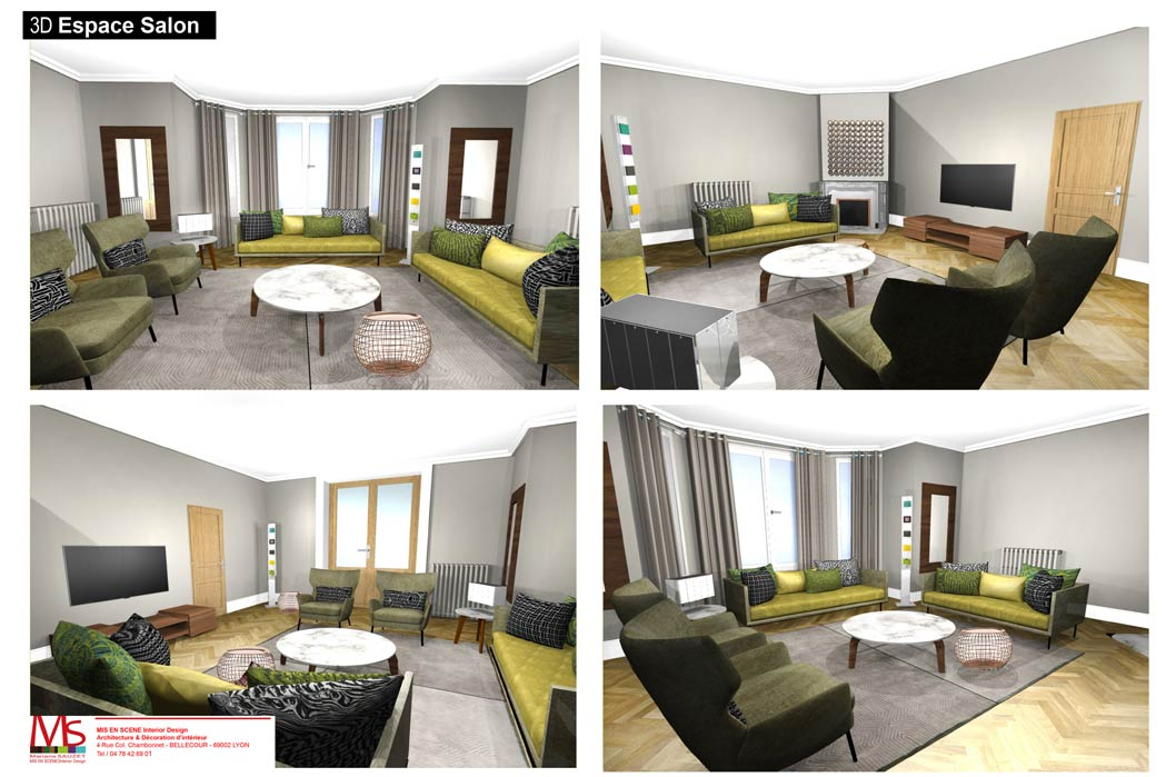 MS Architecture interieur Lyon - Aménagement interieur